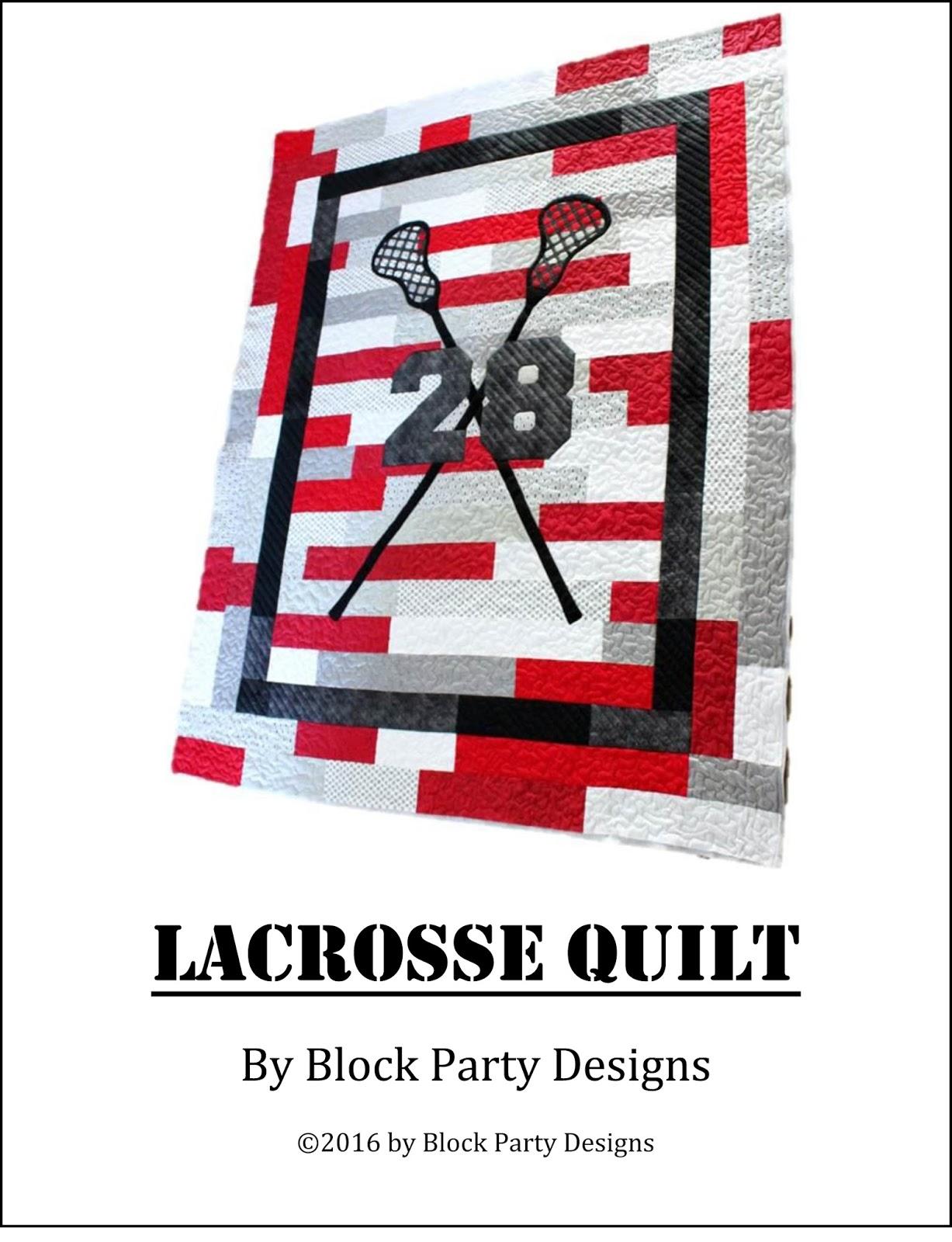 Lacrosse Quilt Pattern
