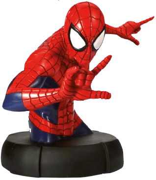 Busto Spiderman