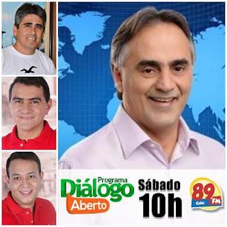 Neste sábado (28), prefeito da capital, Luciano Cartaxo estará em Cuité e concederá entrevista na rádio 89 FM
