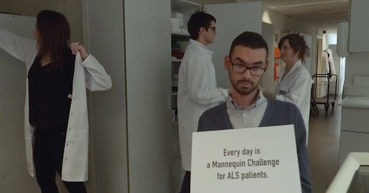ALS League - The never-ending mannequin challenge