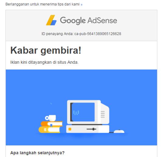 cara daftar ulang di google adsense