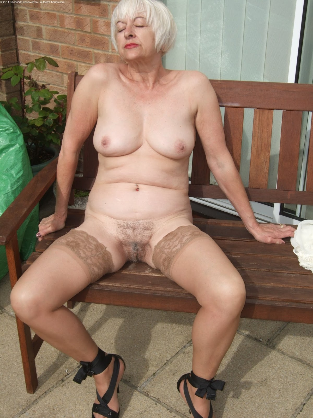 Nude Hairy Older Women