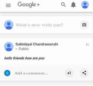 Google+ me bold, italic post kaise kare 7