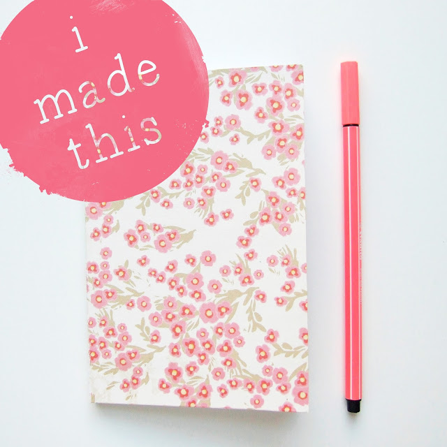 I Made This... Perfect Bound Notebook.