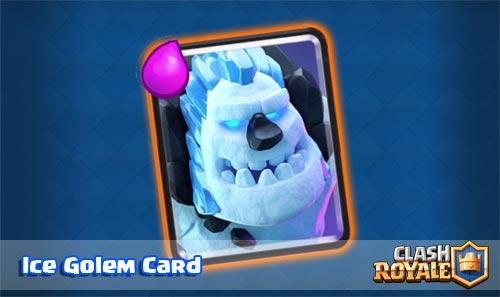 Ringkasan dan Strategi Ice Golem Card Clash Royale
