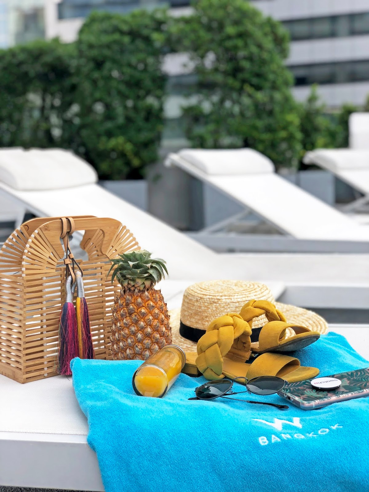 Pool Essentials at W Bangkok