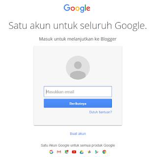 Masukan Email dan Password