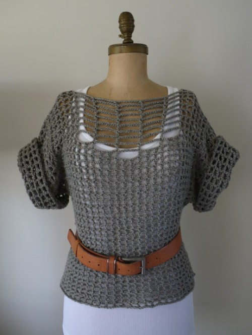 Summer Sweater - Free Pattern
