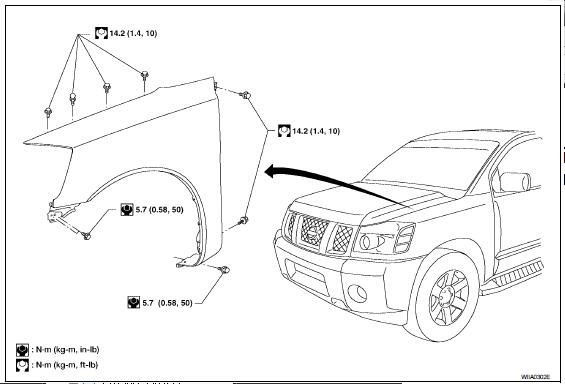 repair-manuals: Nissan Titan A60 2005 Repair Manual
