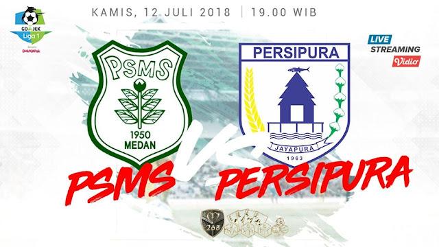 Prediksi PSMS Medan Vs Persipura Jayapura, Kamis 12 Juli 2018 Pukul 19.00 WIB