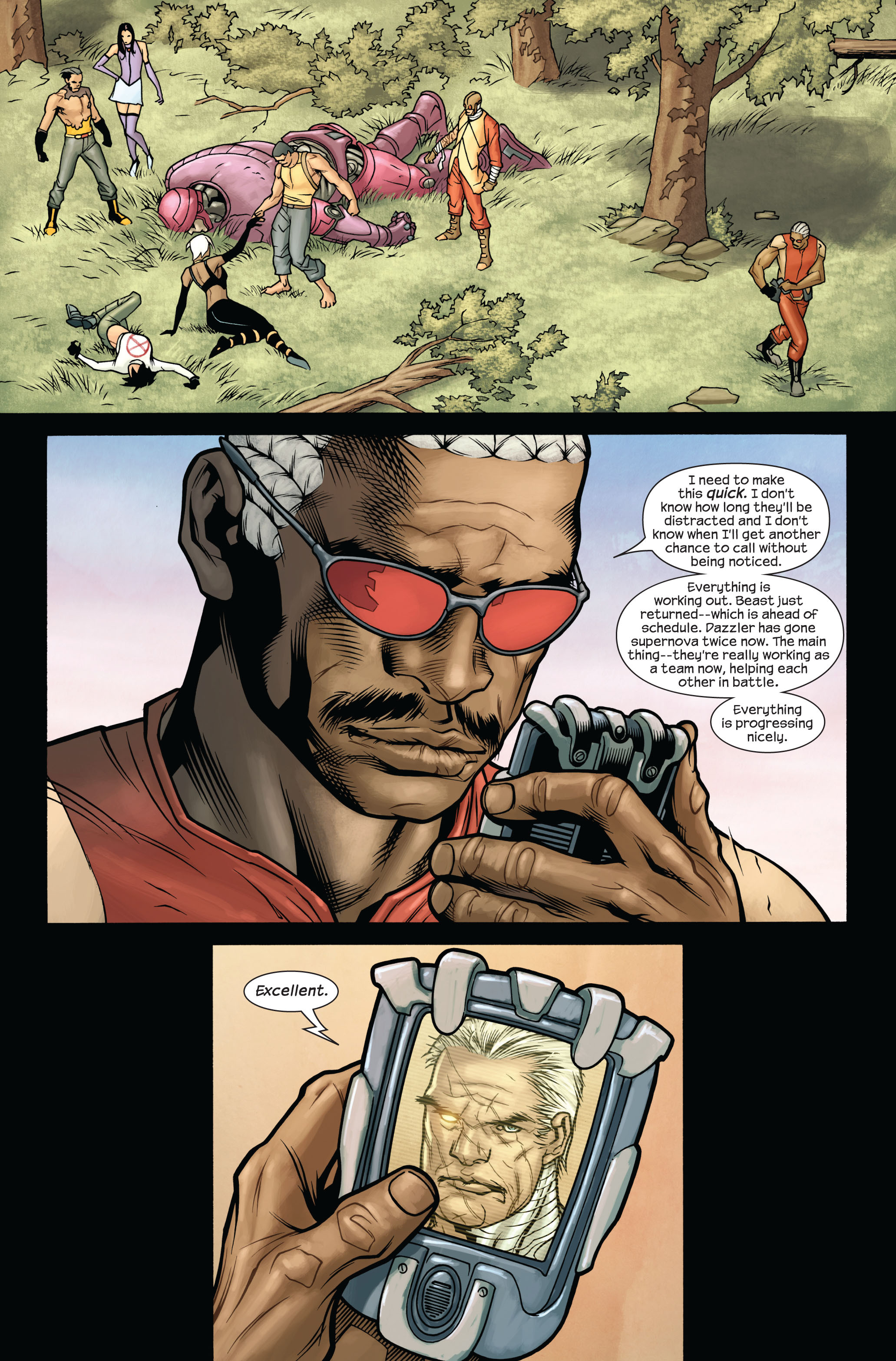 Read online Ultimate X-Men comic -  Issue #87 - 22