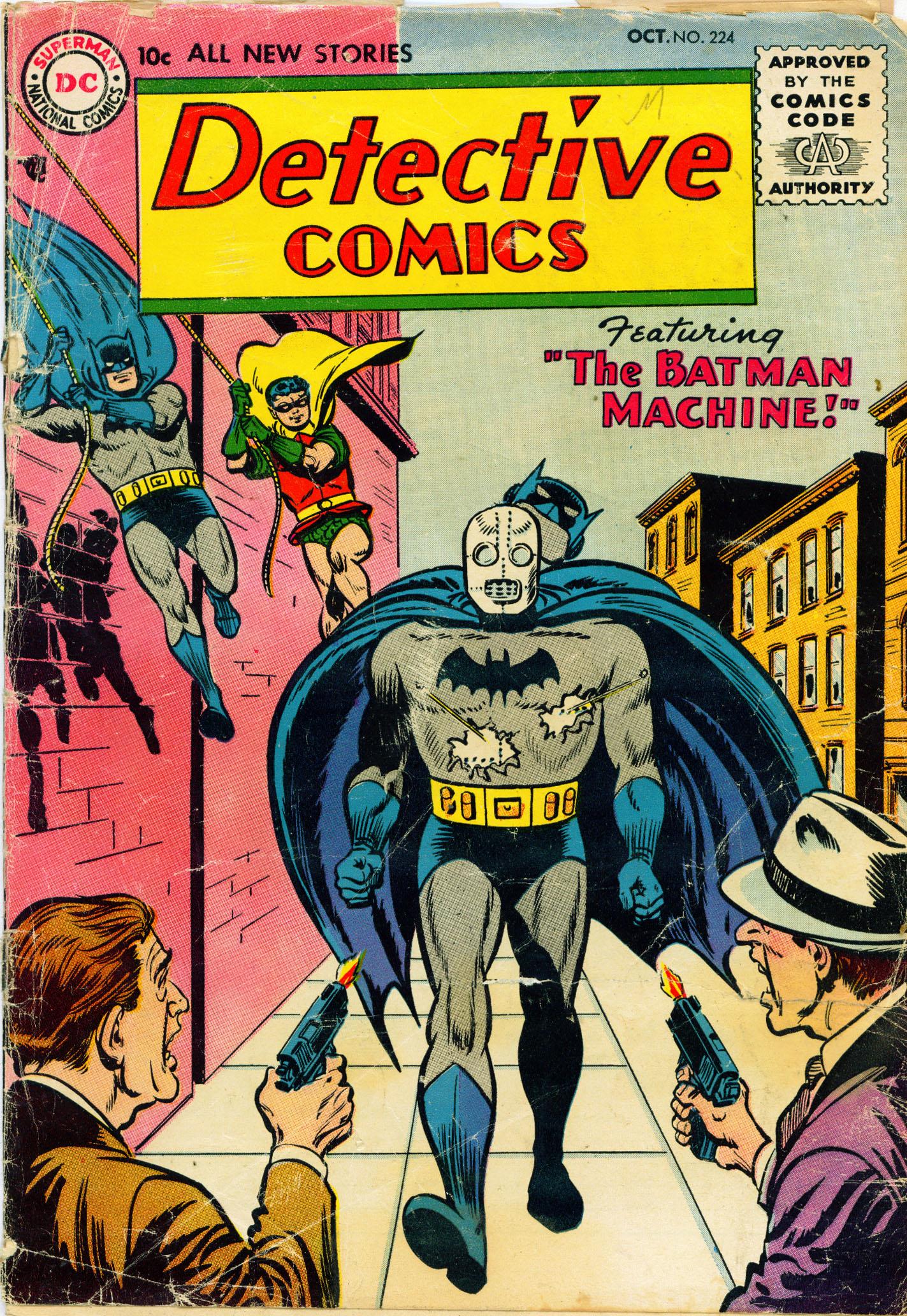 Detective Comics (1937) 224 Page 0