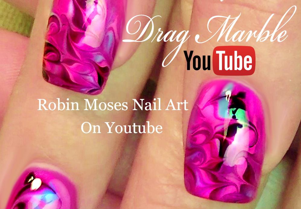 Robin moses nail art drag marble nail art drag marble nails 2018 an error occurred prinsesfo Images