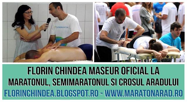 Florin Chindea. Maseur Maraton Arad