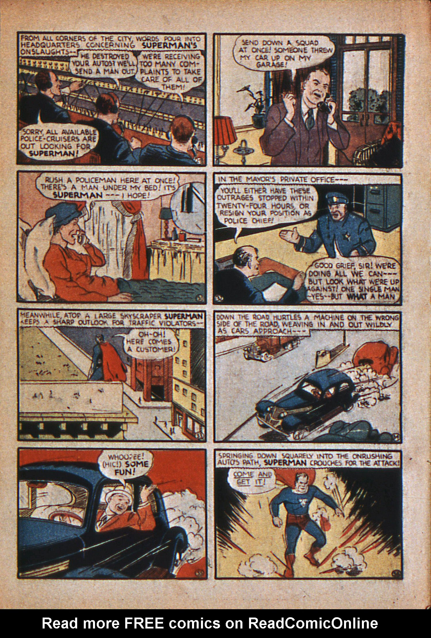 Read online Action Comics (1938) comic -  Issue #12 - 8