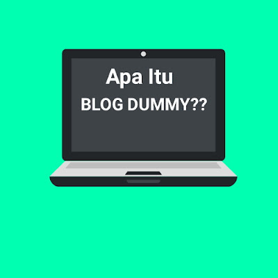 inilah penjelasan untuk anda yang belum mengetahui apa itu blog dummy