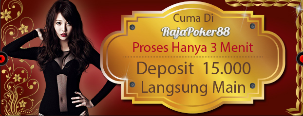 Website Resmi Rajapoker88 Situs Agen Judi Poker Bandar Domino QQ Online Terpercaya