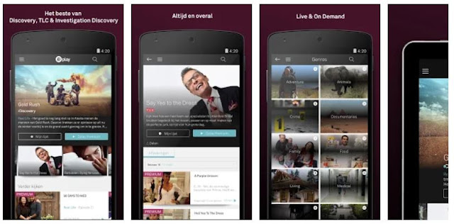 Download Dplay Discovery Digital Mobile App
