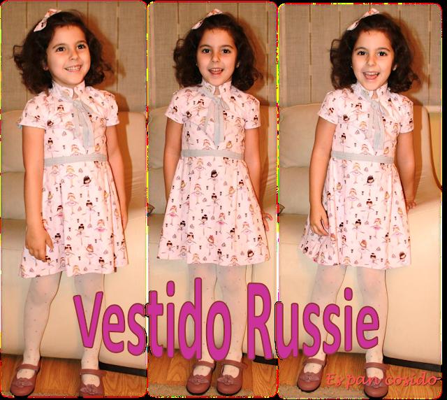 Vestido Russie