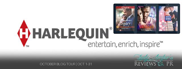 October Harlequin Recommends tour banner