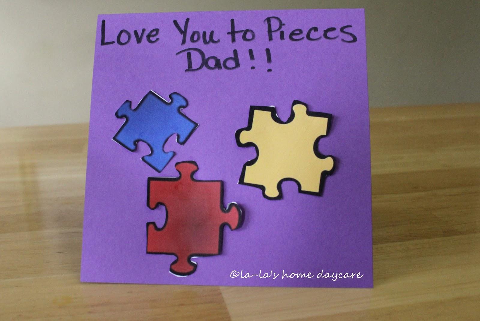 La La S Home Daycare Father S Day