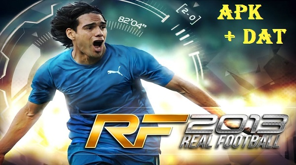 Download Real Football 2013 APK Data Game