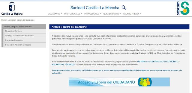 http://sescam.castillalamancha.es/
