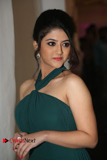 Actress Shriya Sharma Pictures in Long Dress at Nirmala Convent Audio Launch 0093