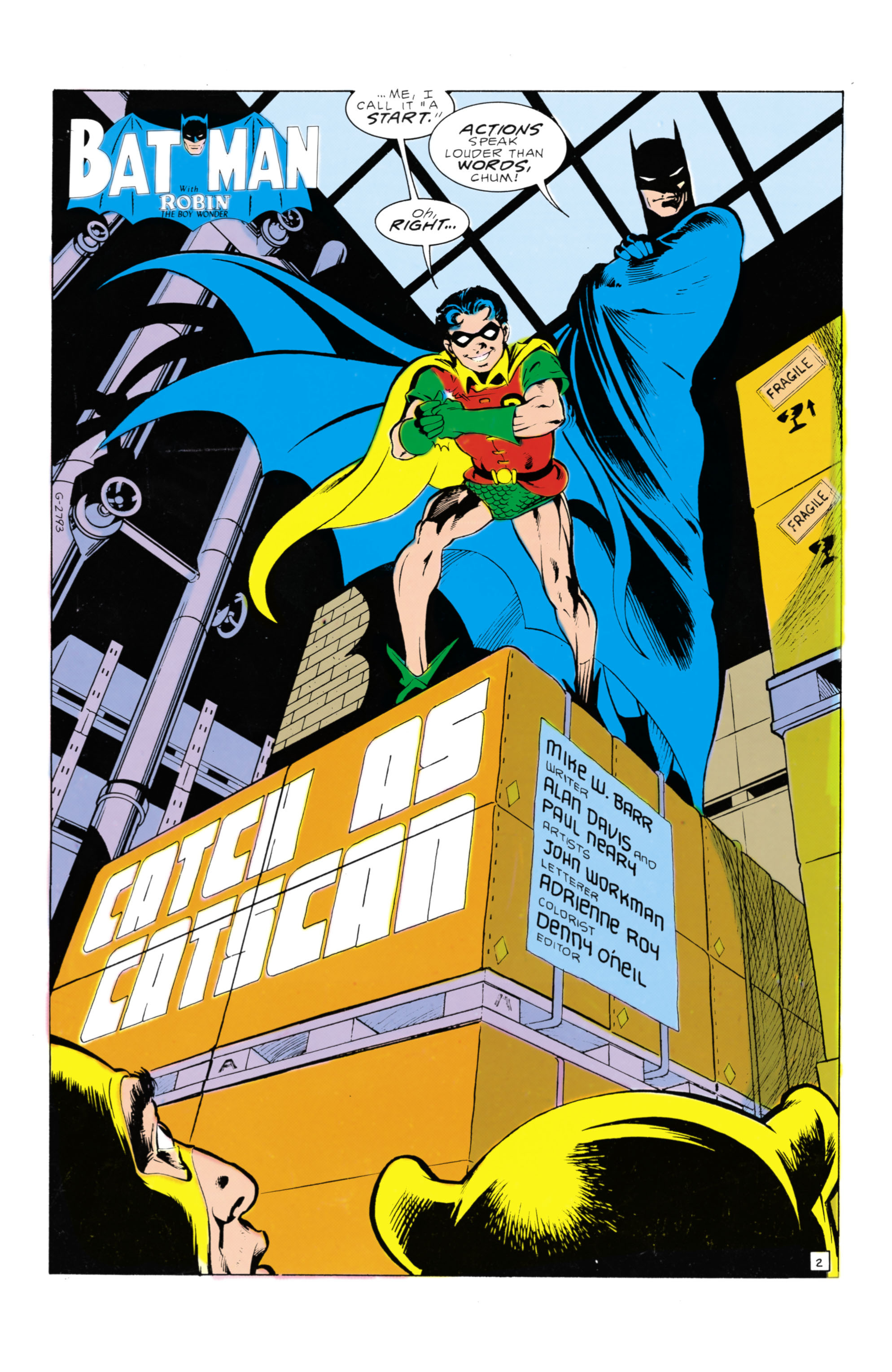 Detective Comics (1937) 569 Page 2