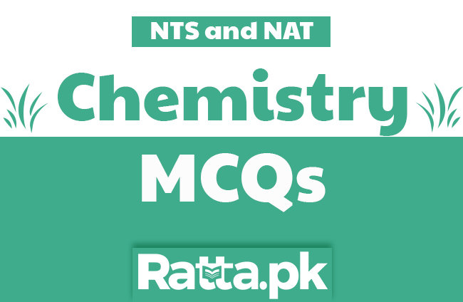 Chemistry MCQs with Answers for NAT and NTS Tests pdf online
