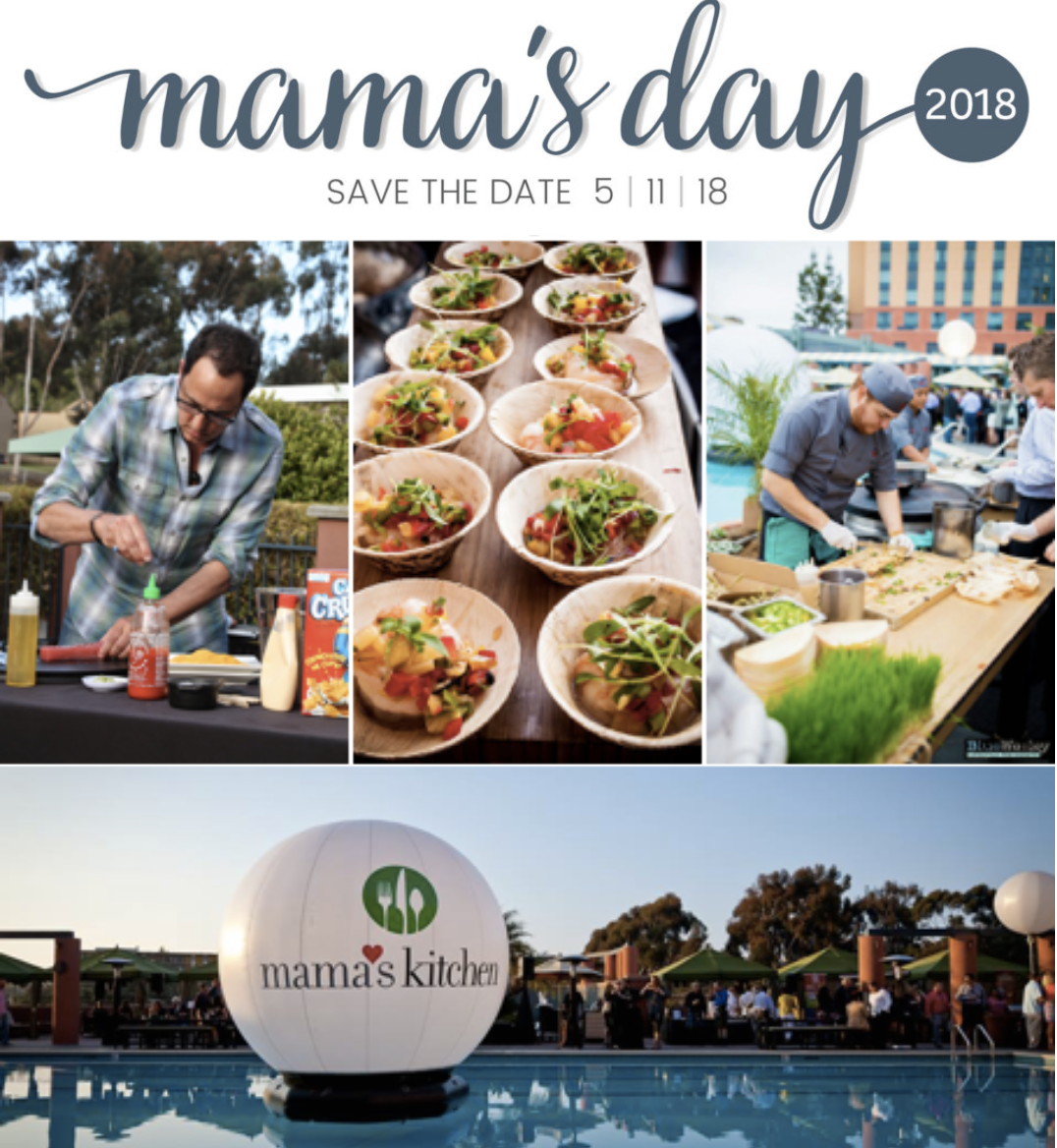 Sandiegoville 27th annual mama 39 s day tasting extravaganza for Mama s kitchen san diego