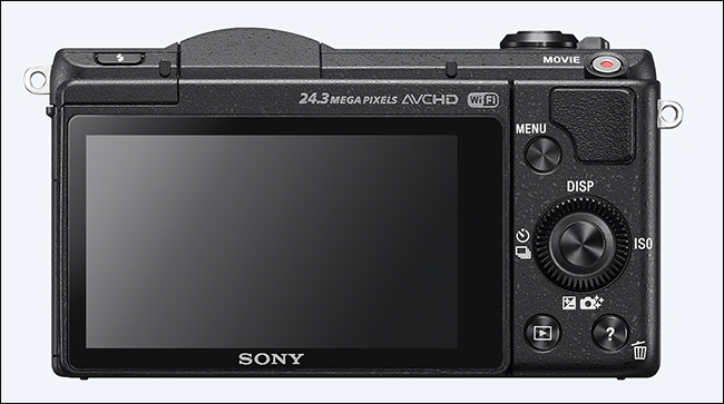 Fotocamera digitale Sony mirrorless