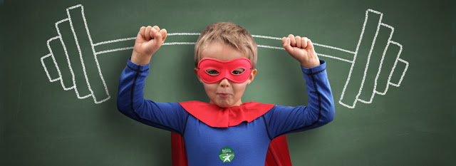 Siłownia dla dzieci Starmax Superbohater