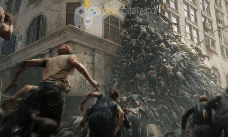 تحميل لعبة World War Z للكمبيوتر مضغوطة