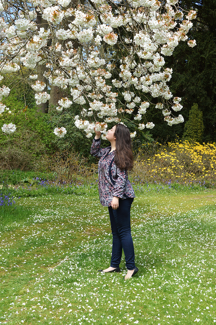 lifestyle-blogger-spring-englefield-house-berkshire