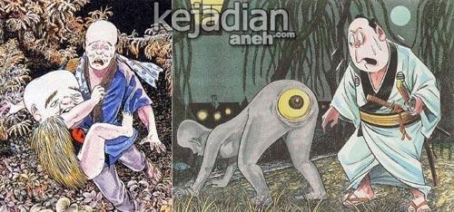 13 Makhluk Mitologi Jepang Paling Seram