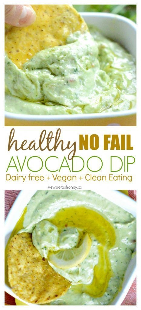Simple Avocado Dip