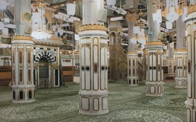 Ornamen Tiang Replika Pilar Masjid Nabawi