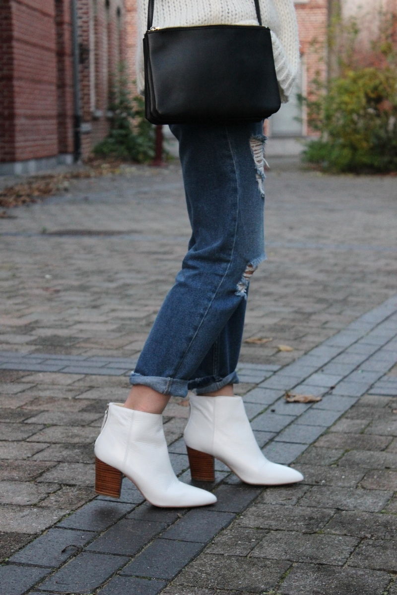 bottines-blanches