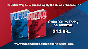 2019 NCAA & NFHS Baseball Rules in Black and White