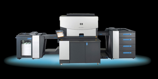 HP Indigo 7000 Digital Press, glow