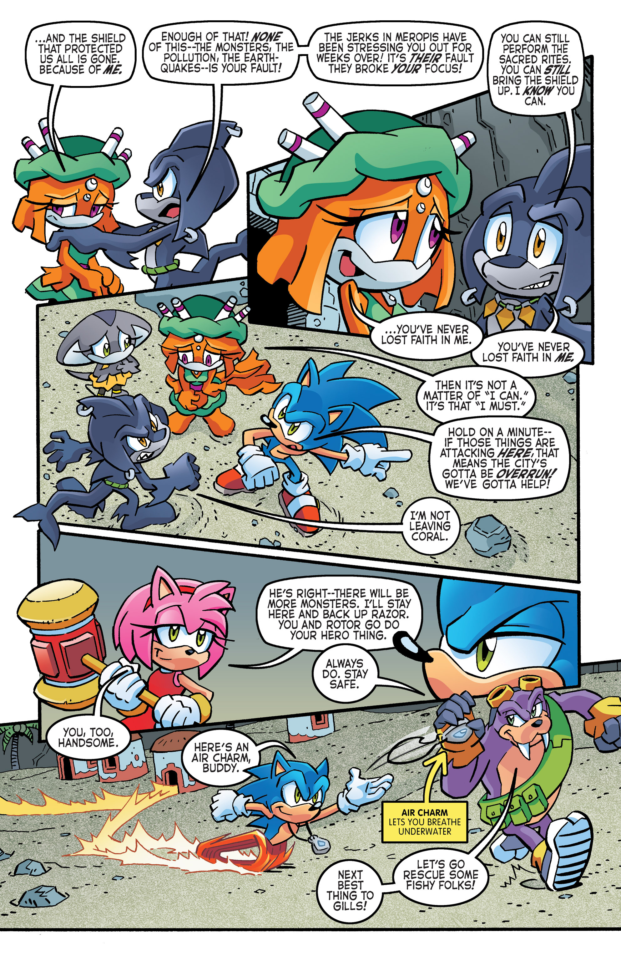 Read online Sonic The Hedgehog comic -  Issue #262 - 5