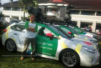 6 Google Street View Car Memetakan Tasikmalaya dan sekitarnya
