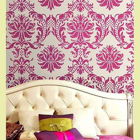 Worthwhile Domicile: Options Part II-Wallpaper vs Stencils