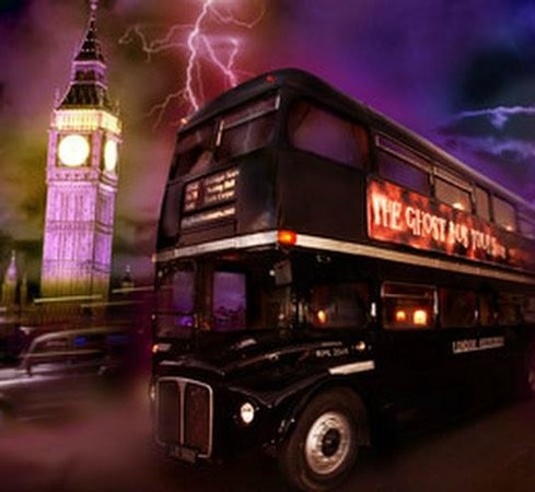 The London Ghost Bus Tour - www.All-About-London.com