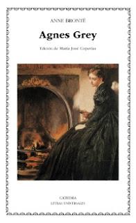 Portada del libro Agnes grey de Anne Brontë