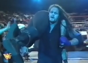 WWF / WWE - In Your House 11: Buried Alive - Undertaker beat Mankind in the Buried Alive match