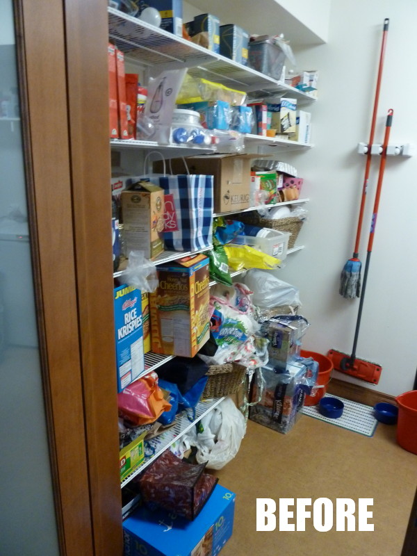 Ocd Obsessive Crafting Disorder Pantry Makeover