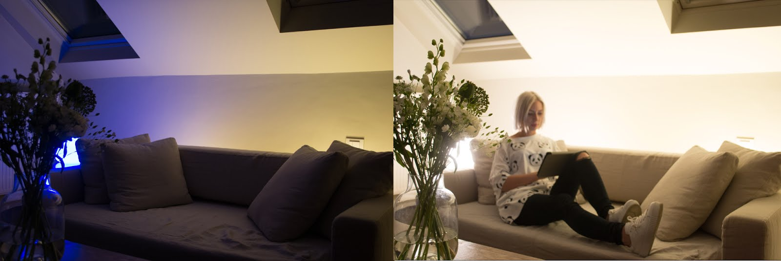Philips hue, wireless light, wellbeing, event, hotel julien antwerp