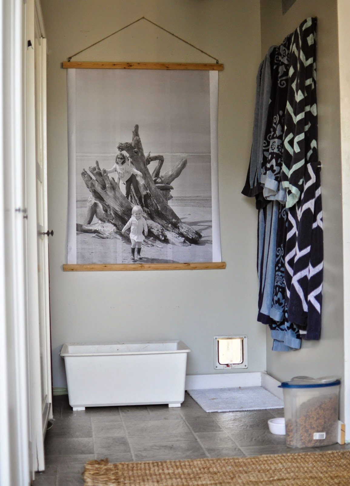 You paid more than me: DIY Oversized Print and Frame ...